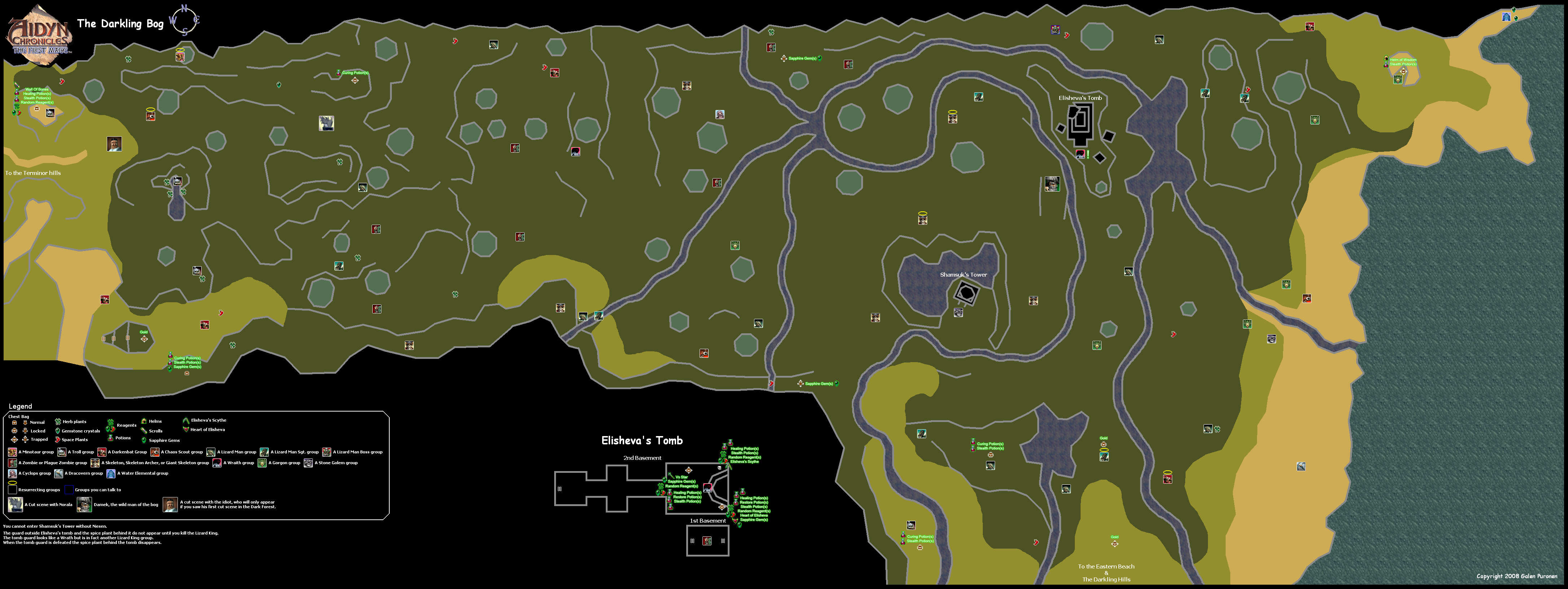 The Video Game Atlas - N64 Maps