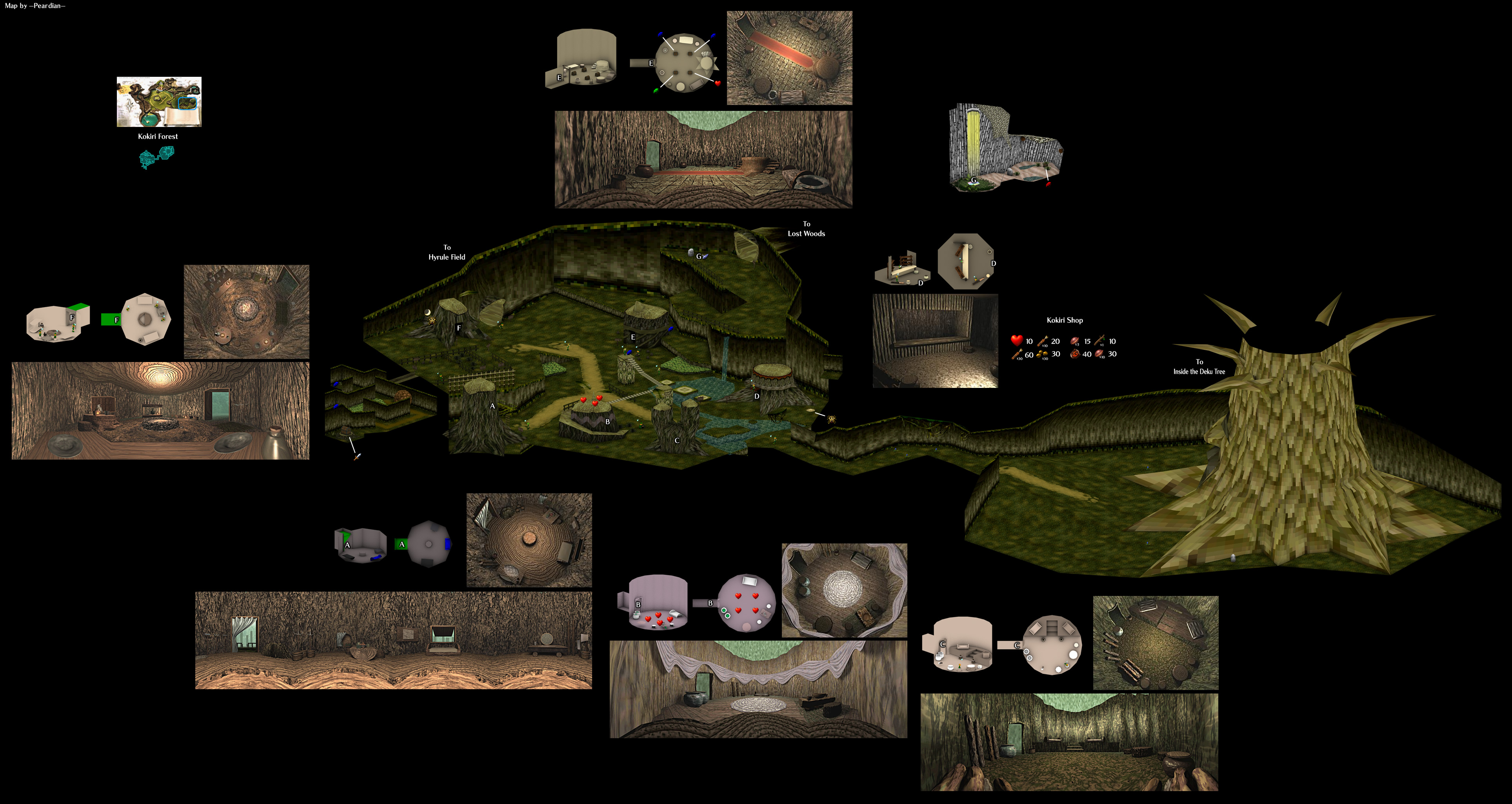The Video Game Atlas N64 Maps