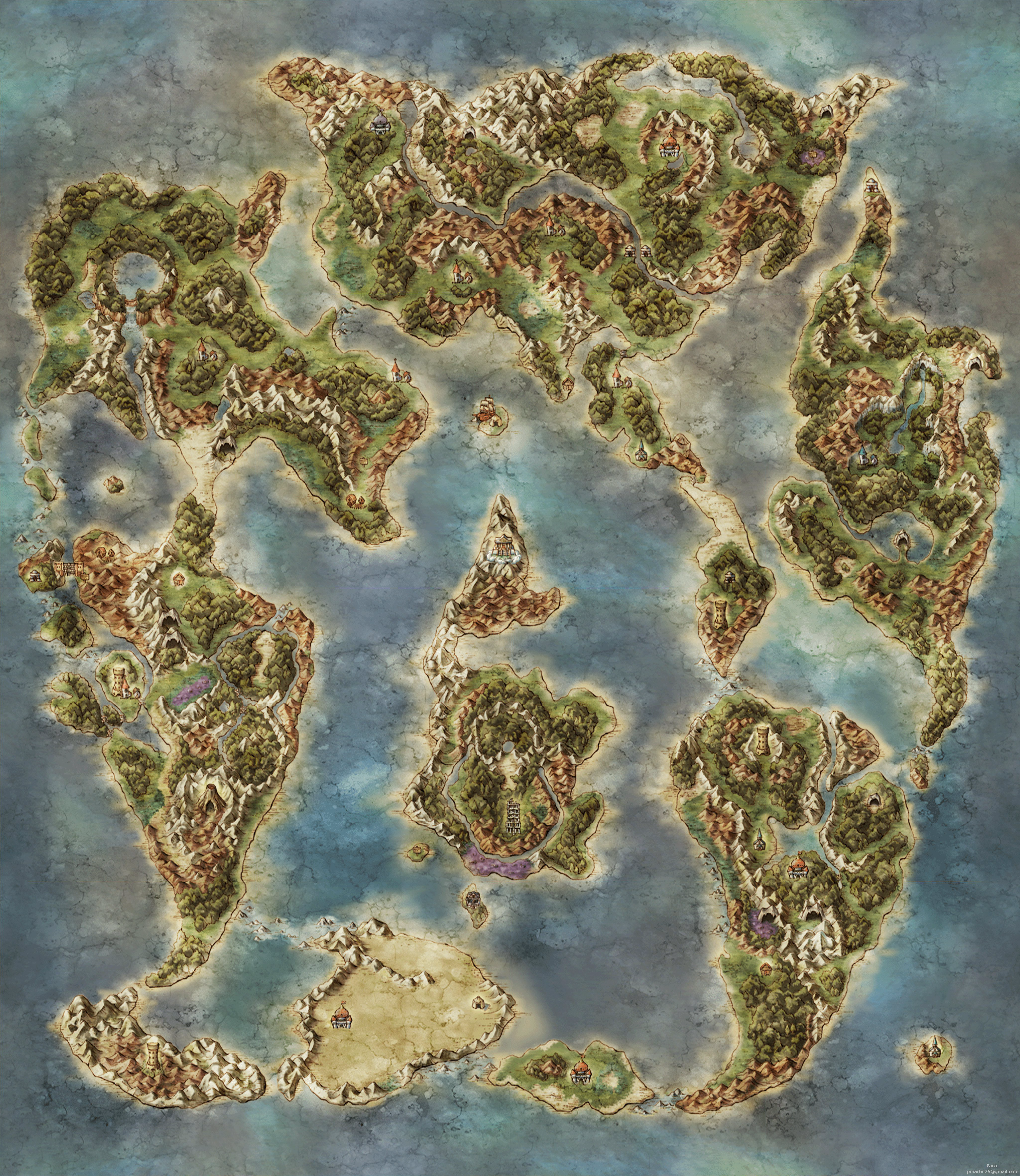 The Video Game Atlas - PS2 Maps