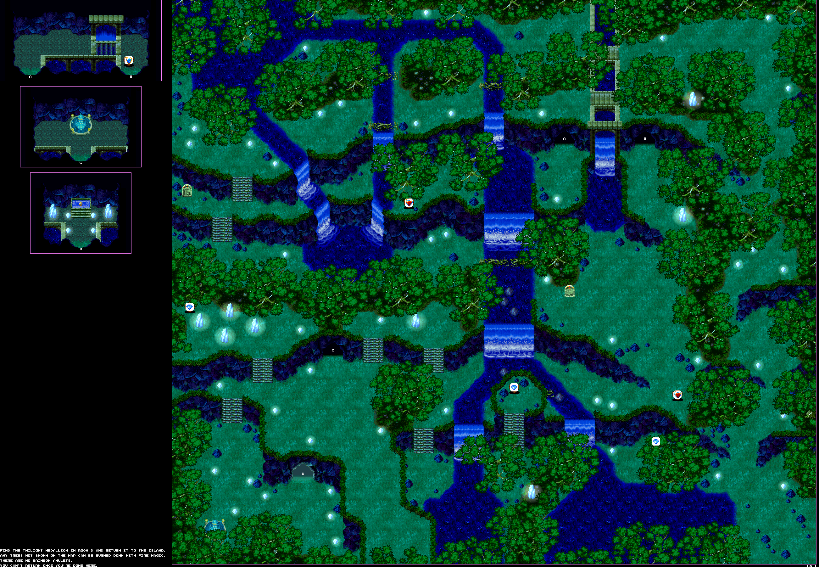 The Video Game Atlas - Saturn Maps